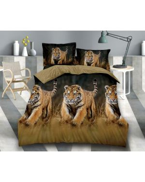 Lion Print Duvet/Quilt Cover Set