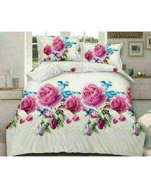 Complete Bedding 3D Design 4 3 Piece Duvet Quilt Cover Sets Fitted Sheet