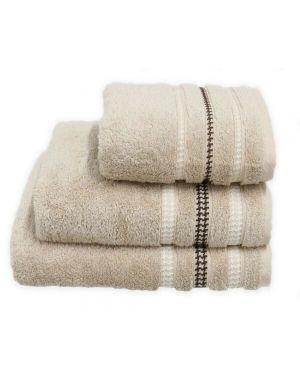 Bouca Beige Luxurious Pure Egyptian Cotton Towels