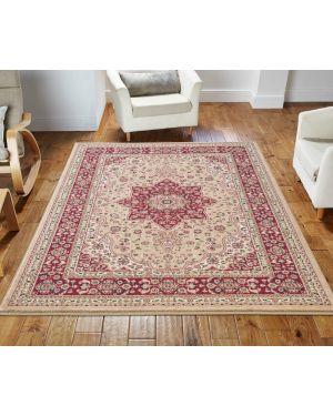 lonwale Vintage carpet Floral Large Area Beige Rug