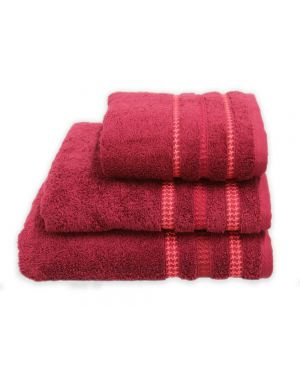 Bouca Luxurious Pure Egyptian Cotton Towels in Burgundy Colour