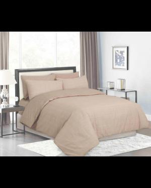 Sopron cotton complete bedding set printed design Cream