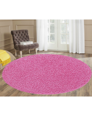 Moth Resistant Ashely Pink Round Center Piece Rug