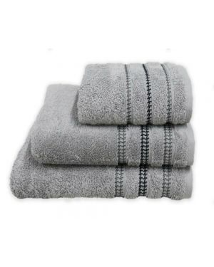 Bouca Silver Luxurious Pure Egyptian Cotton Towels
