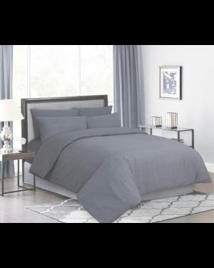 Sopron cotton complete bedding set printed design Sliver light