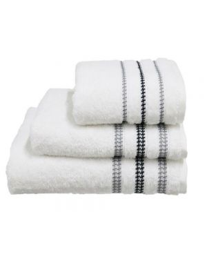 Bouca Luxurious Pure Egyptian Cotton Towels in White Colour