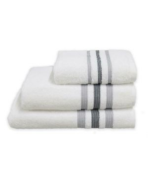 Hand/Bath Towels Bath Sheets 500gsm Pure Egyptian Cotton Gambo White