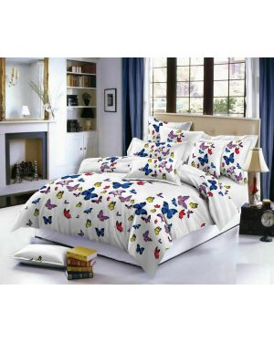 3D Tiny Butterfly Design Duvet Quilt Cover Bedding Set