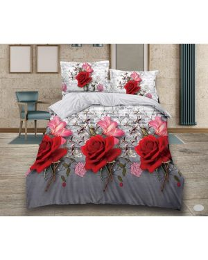 4 Pieces 3d Design Complete Bedding Set with Pillowcases