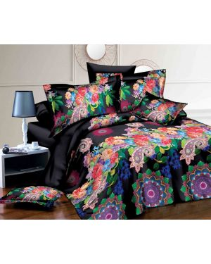 4 Piece Complete Bedding Set 3D Effect Single Double King And Super King