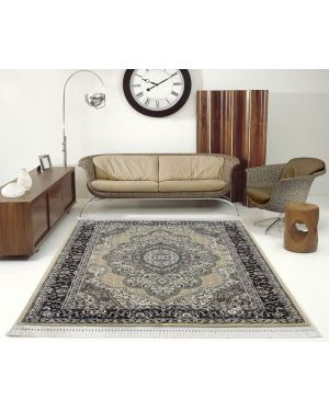 Vintage Traditional Style indus Beige Rug carpet