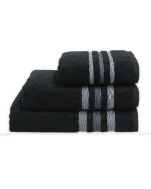 Gambo black Hand/Bath Towels Bath Sheets 500gsm Pure Egyptian Cotton