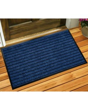 Door Mat Non Slip Guaranda Blue Rug Kitchen Mat Heavy Duty Runner Outdoor Indoor