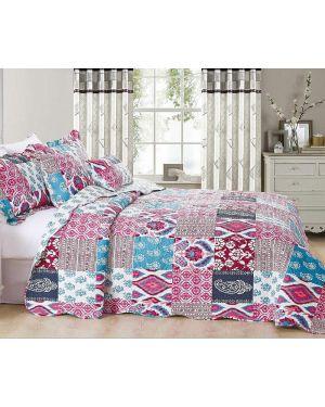 Nomal Soft Vintage Patchwork Bedspread