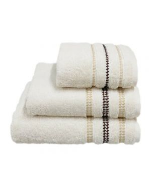 Bouca Luxurious Pure Egyptian Cotton Towels in Cream Colour