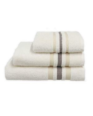 Hand/Bath Towels Bath Sheets 500gsm Pure Egyptian Cotton Gambo Cream