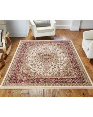 lonwale Vintage carpet Floral Large Area Cream Rug
