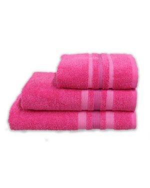 Hand/Bath Towels Bath Sheets 500gsm Pure Egyptian Cotton Gambo Fuchsia Pink