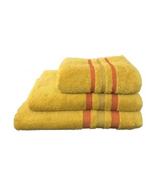 Hand/Bath Towels Bath Sheets 500gsm Pure Egyptian Cotton Gambo Mustered Red