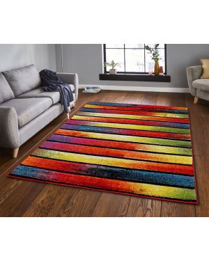 Modern Design Multi Colours Tofino Rug