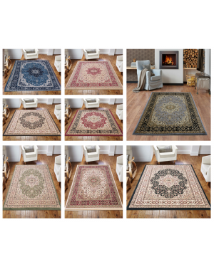 Traditional lonwale Anti Slip Vintage Living Room Bedroom Hallway Area Rug Carpet Runners