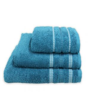 Bouca Teal Luxurious Pure Egyptian Cotton Towels