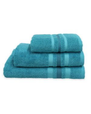 Gambo teal Hand/Bath Towels Bath Sheets 500gsm Pure Egyptian Cotton