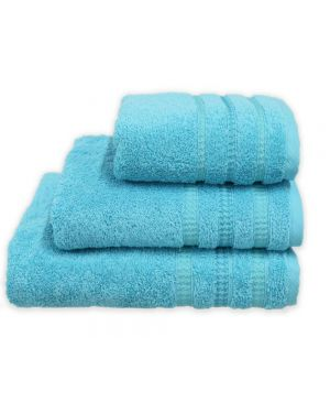 Bouca Luxurious Pure Egyptian Cotton Towels in Turquoise Colour