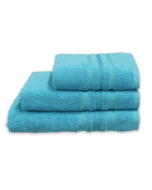 Gambo Turquoise Hand/Bath Towels Bath Sheets 500gsm Pure Egyptian Cotton
