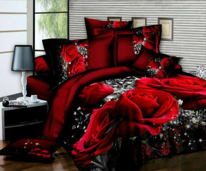 New 4 Piece 3D Effect Animal Bed Set Duvet Cover Set Bedding Set Quilt Cover Set